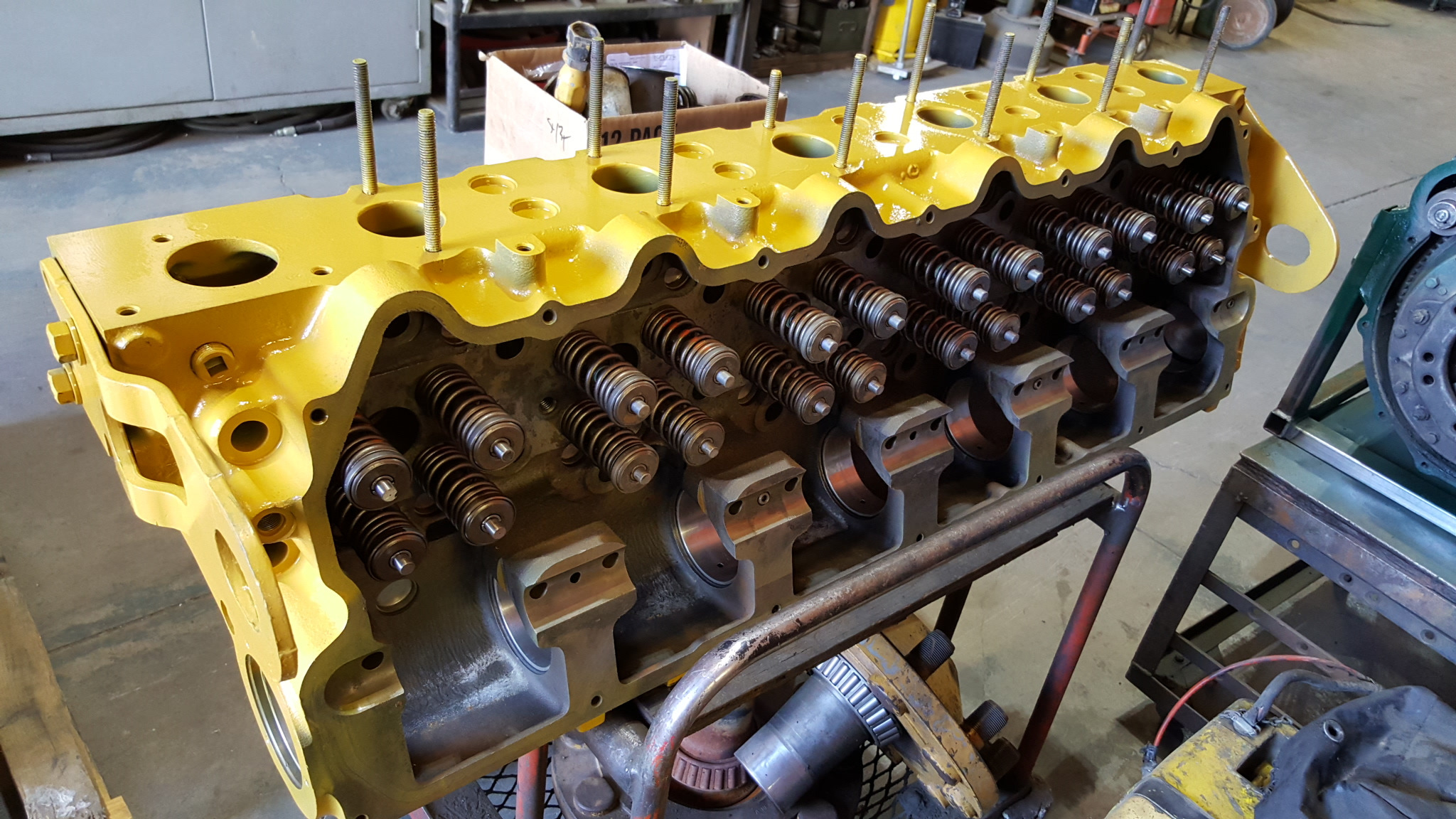 C Caterpillar Cylinder Head also  moreover Os likewise  besides Cat. on 3406e cat engine tools