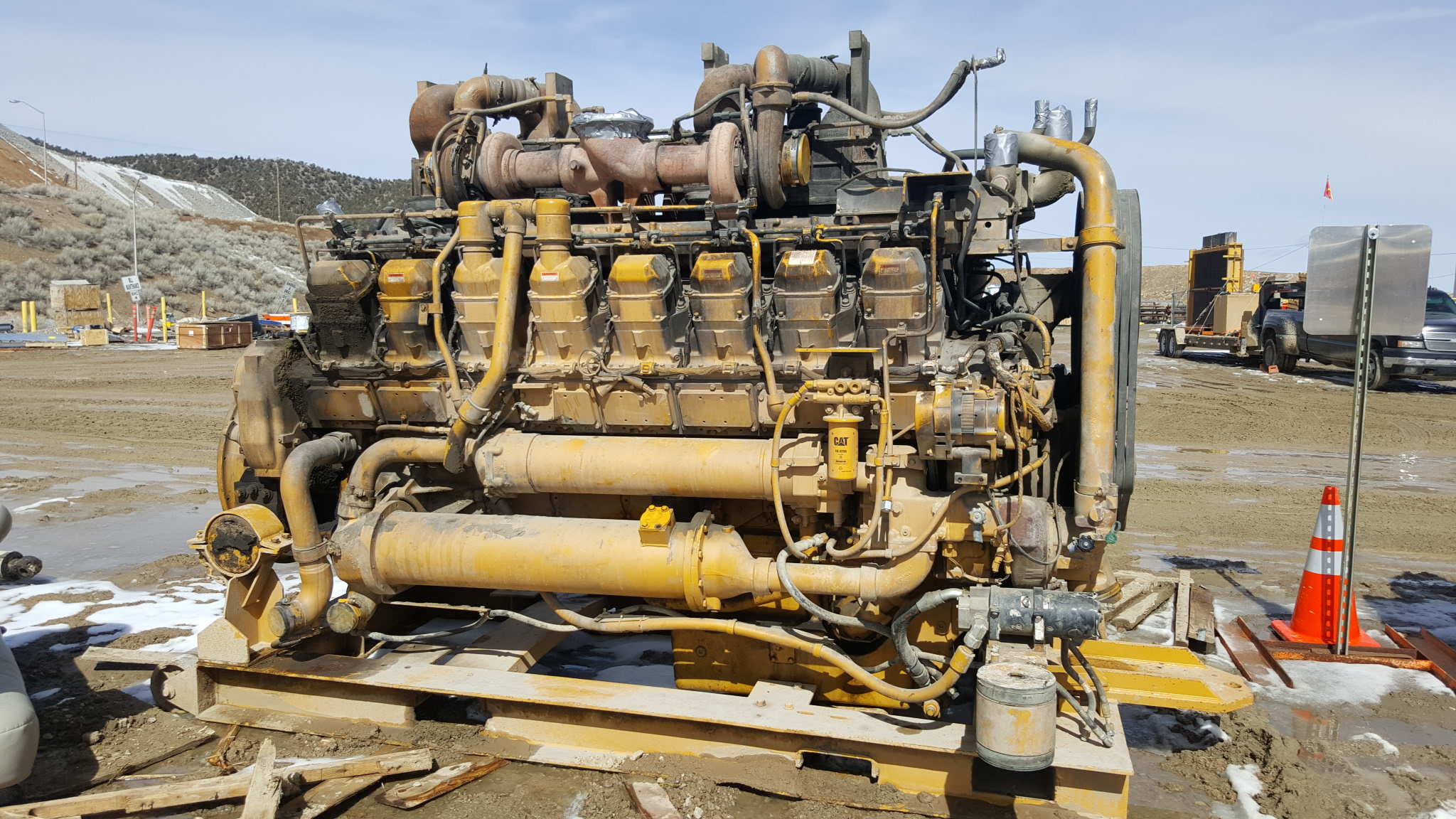 Caterpillar 3516 V16 3500 Series 793 Haul Truck Mining Diesel Engine