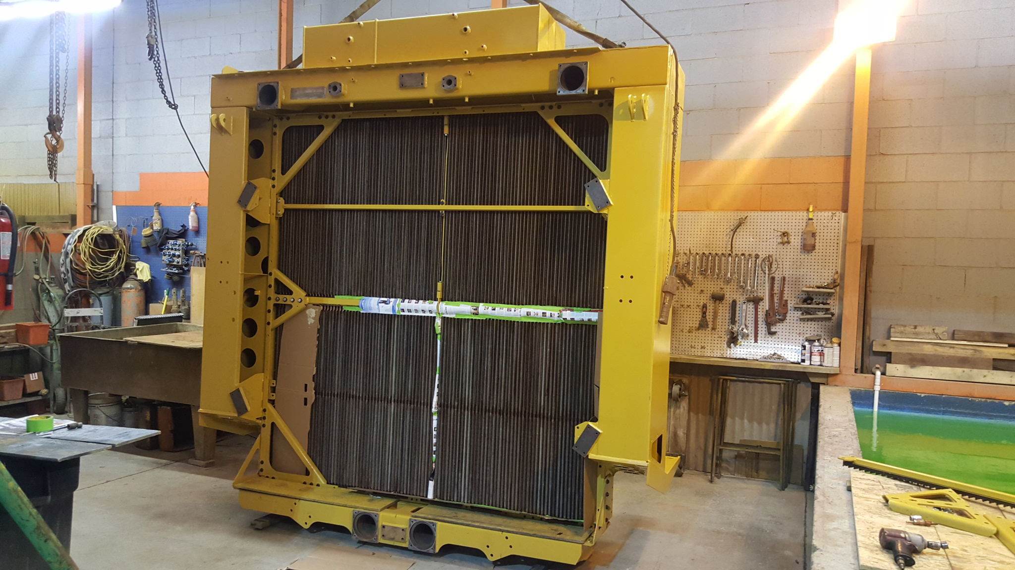 Caterpillar 793 Haul Truck Mesabi Spare Radiator Overhaul