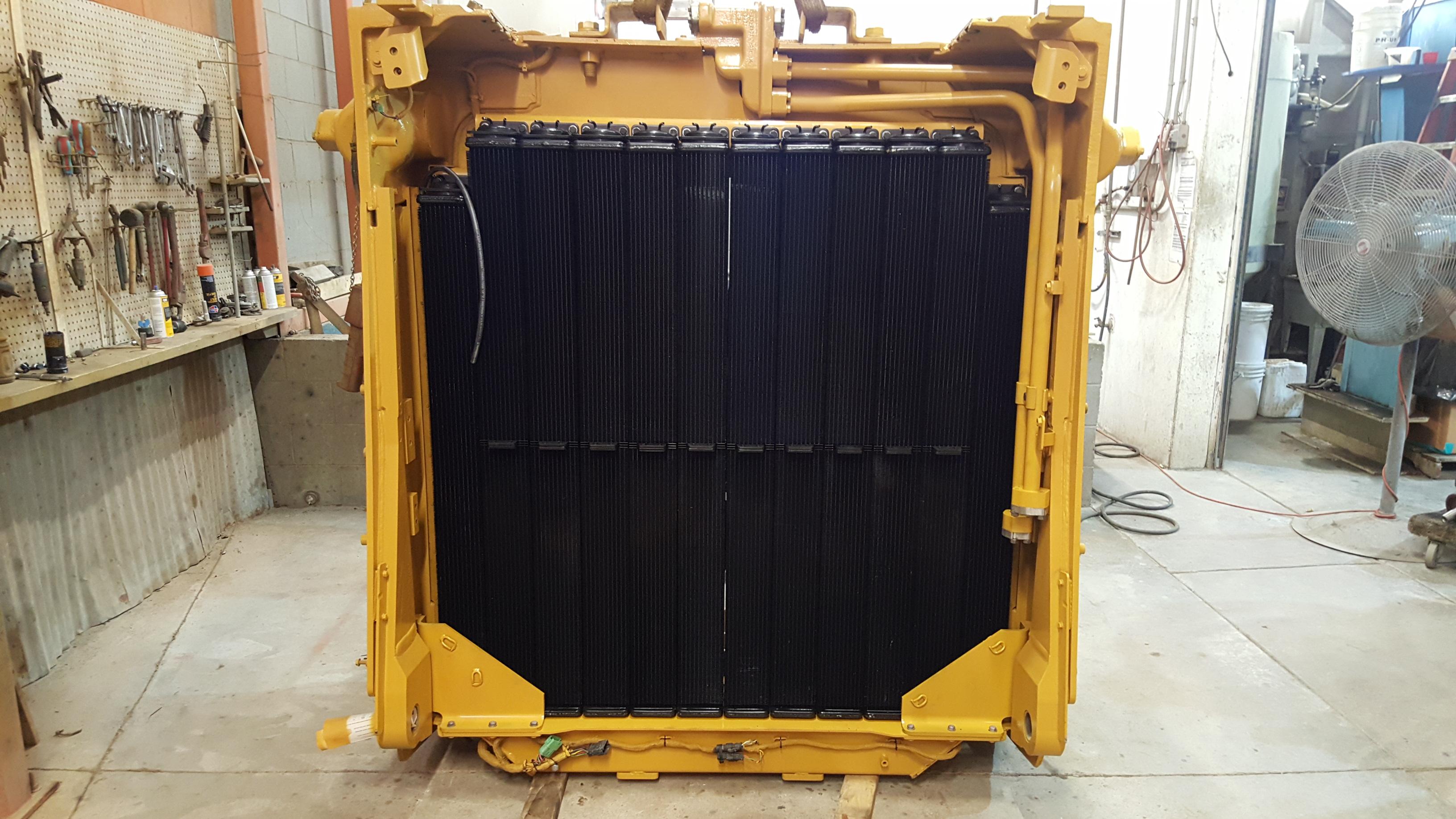 Caterpillar D10T AMOCS Radiator & Complete Hardnose Assembly
