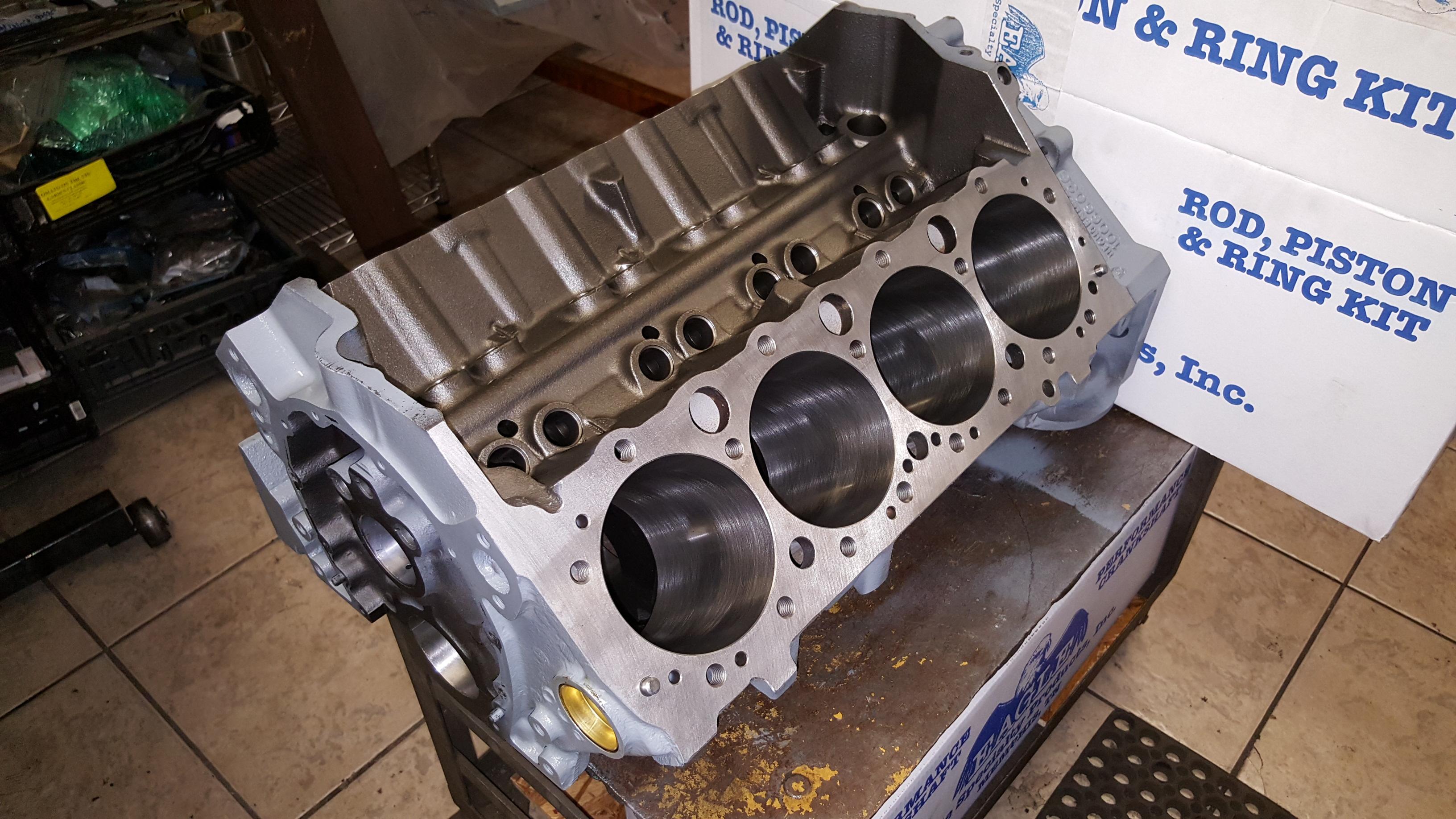 Small Block Chevy 383 Stroker Engine Machining And Custom Build