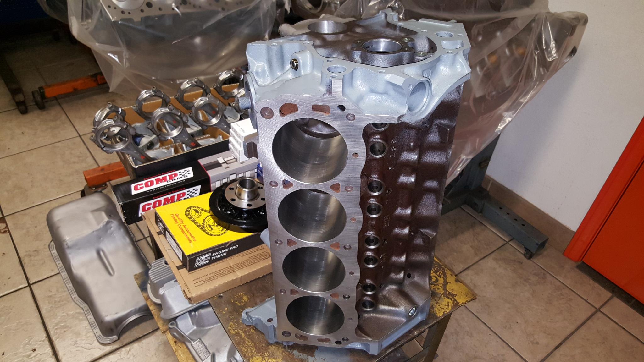 Ford Mustang 289 V8 Engine Machine Work For Rebuild - Motor