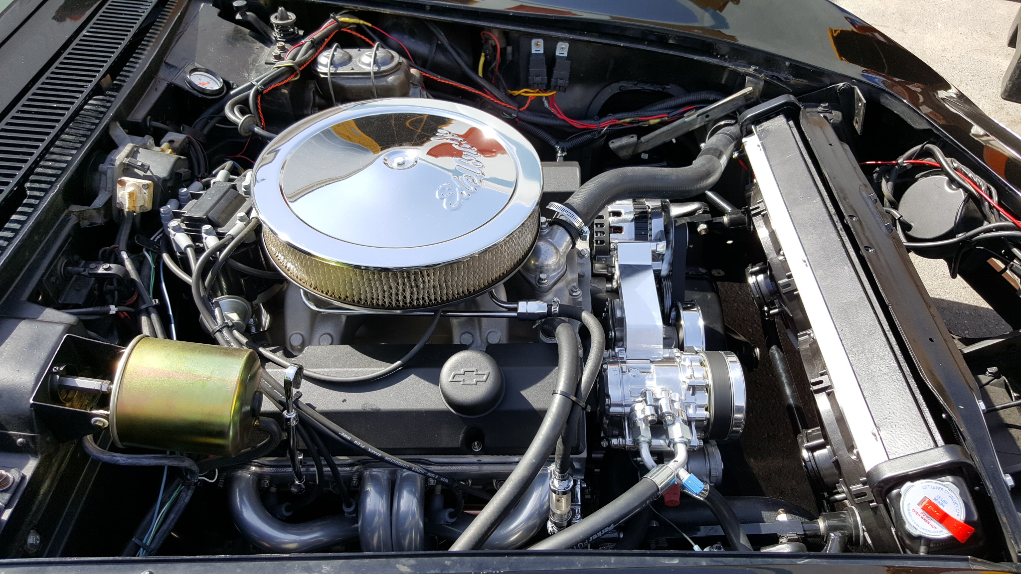 Chevy 383 Stroker Engine With Dart Pro1 Aluminum Cylinder