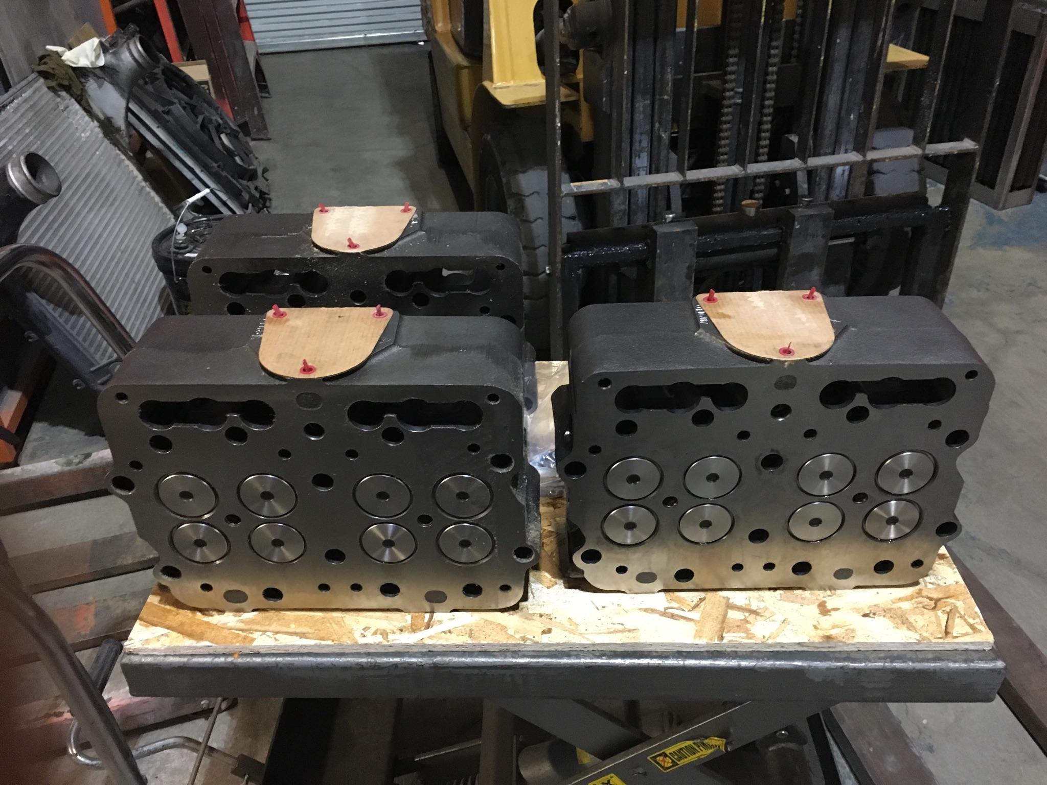 Cummins Cylinder Head Rebuilding