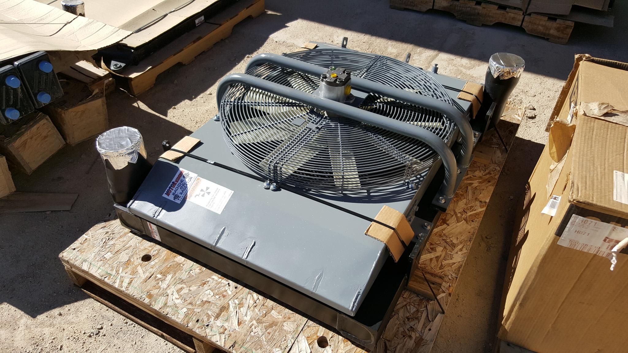 Aluminum Charge Air Cooler Repair & Rebuild With A New
