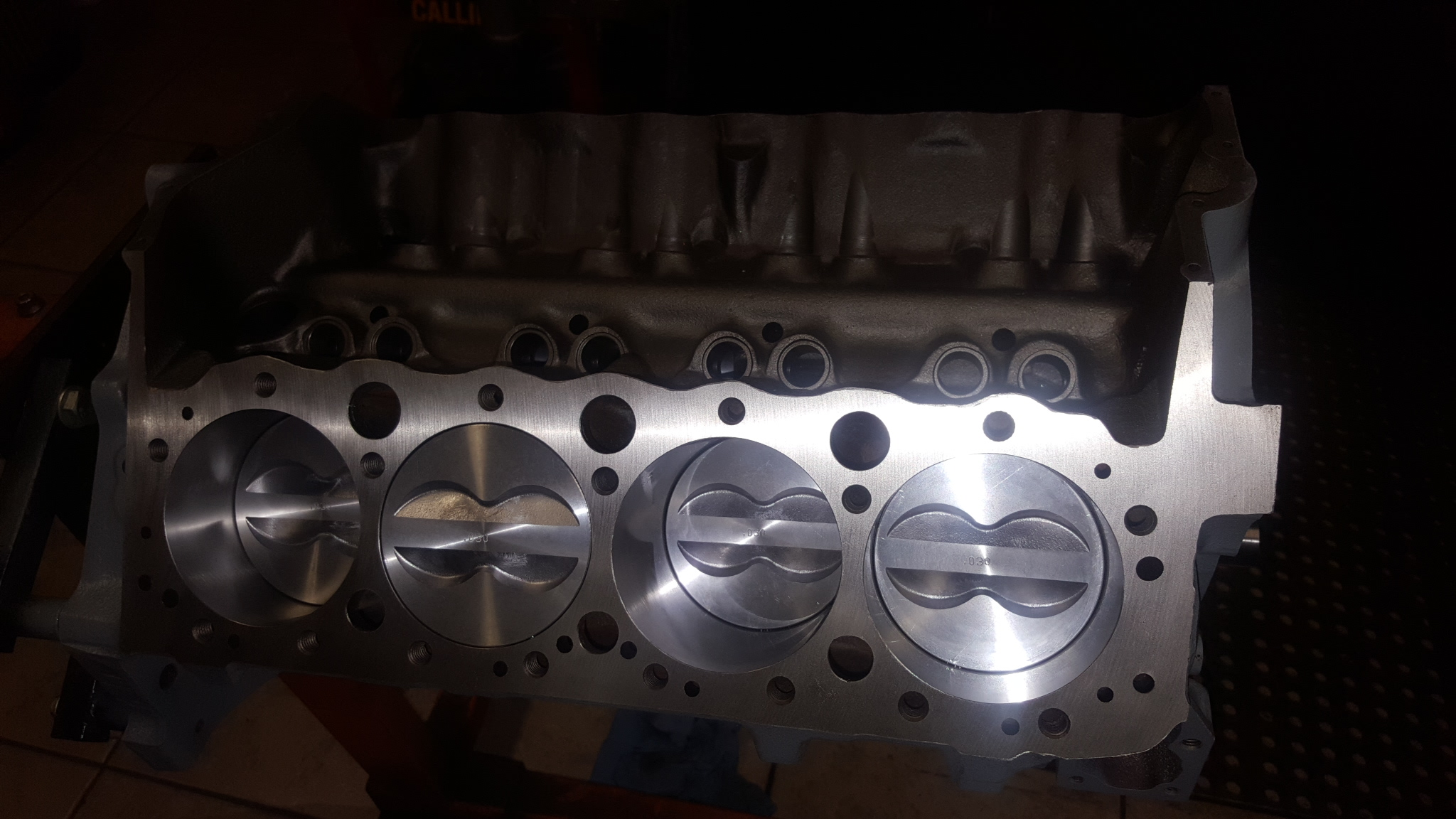 Chevy Small Block 383 Stroker Engine With Eagle Forged