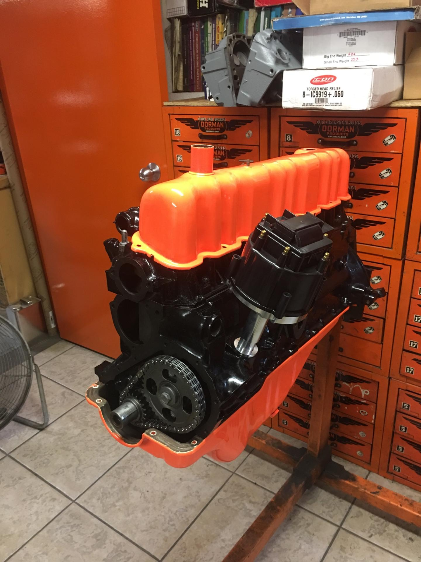 Ford Falcon 170 Engine Rebuild, Drag Race Motorcycle