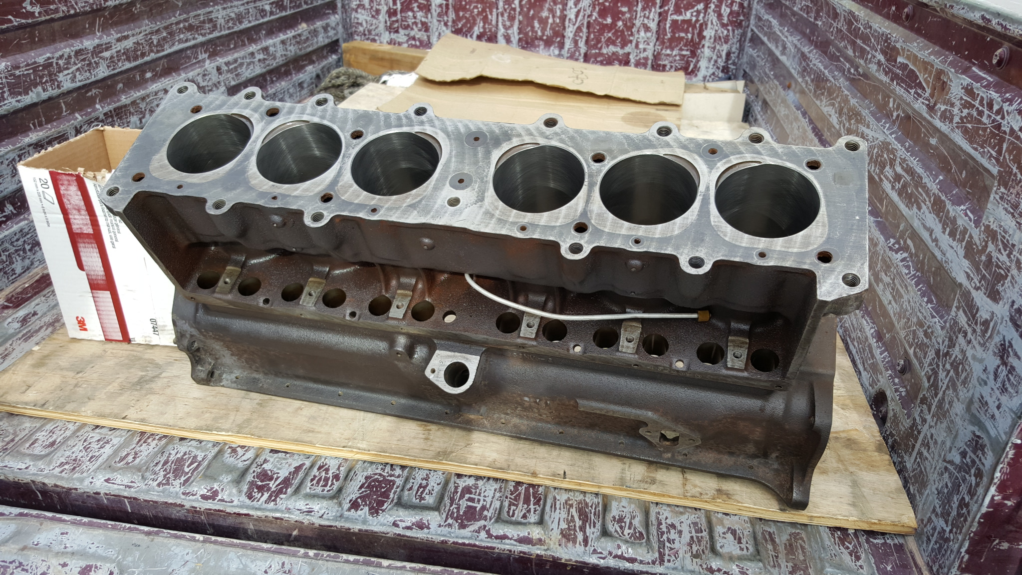 Gm Bore Hone on Chevy Inline 6 Cylinder Performance