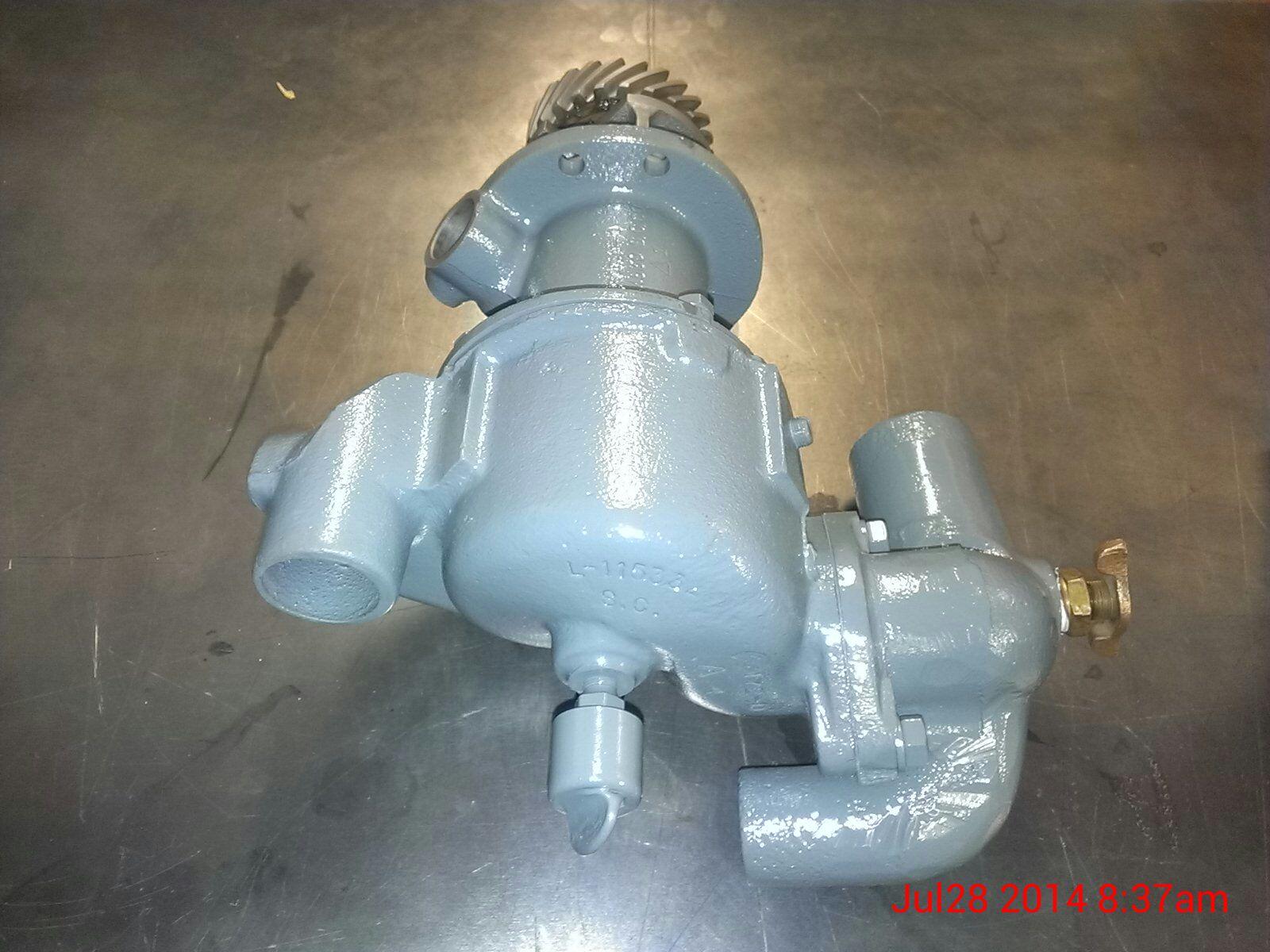 Hercules Model JXLD Water Pump Machining, Rebuild