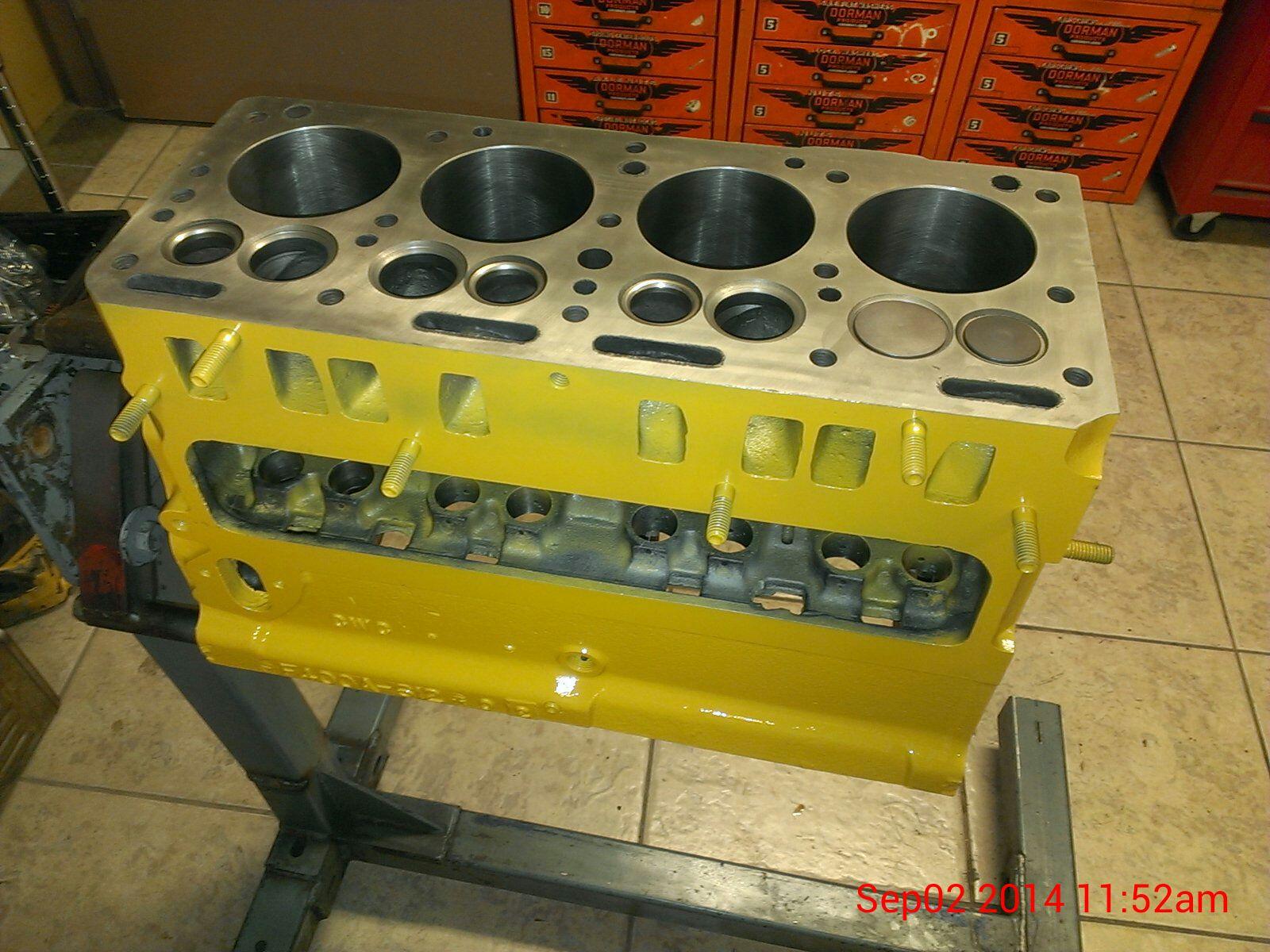 Continental F163 Flathead 4 Cylinder Engine Machining