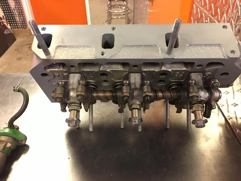1.3 Liter Yanmar Diesel Cylinder Head Rebuild For A John Deere Tractor - Motor Mission Machine ...