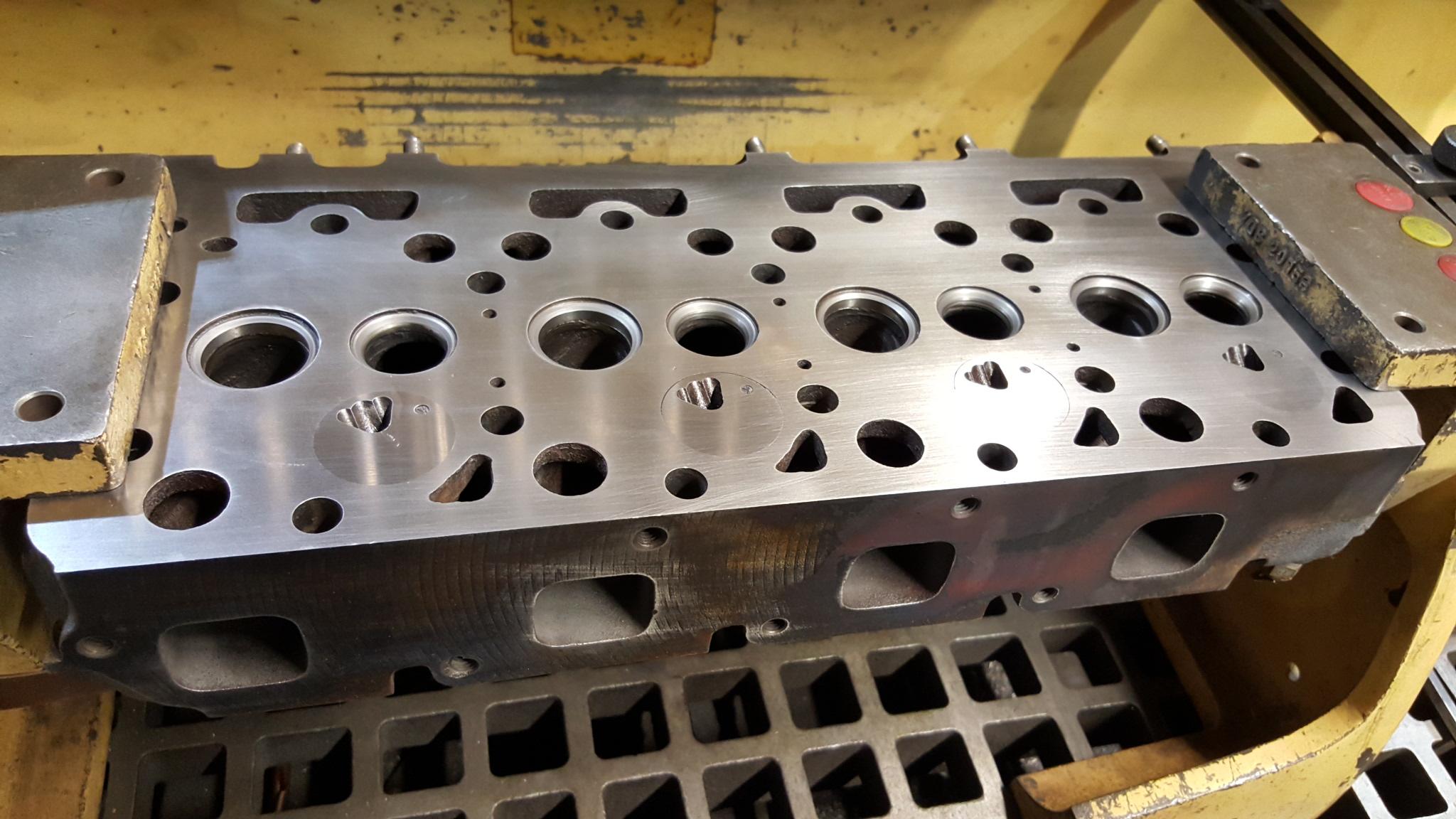 Kubota V2203 Four Cylinder Diesel Engine Block,Cylinder Head, And