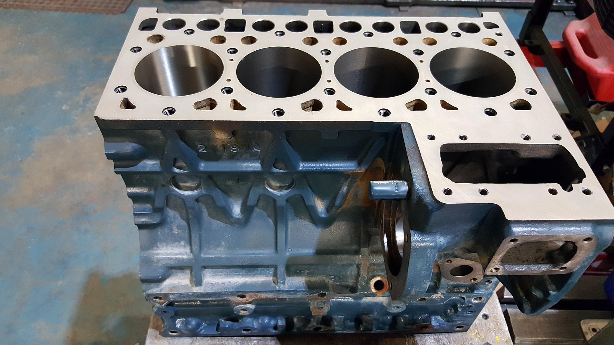 Kubota V2203 Four Cylinder Diesel Engine Block,Cylinder ...