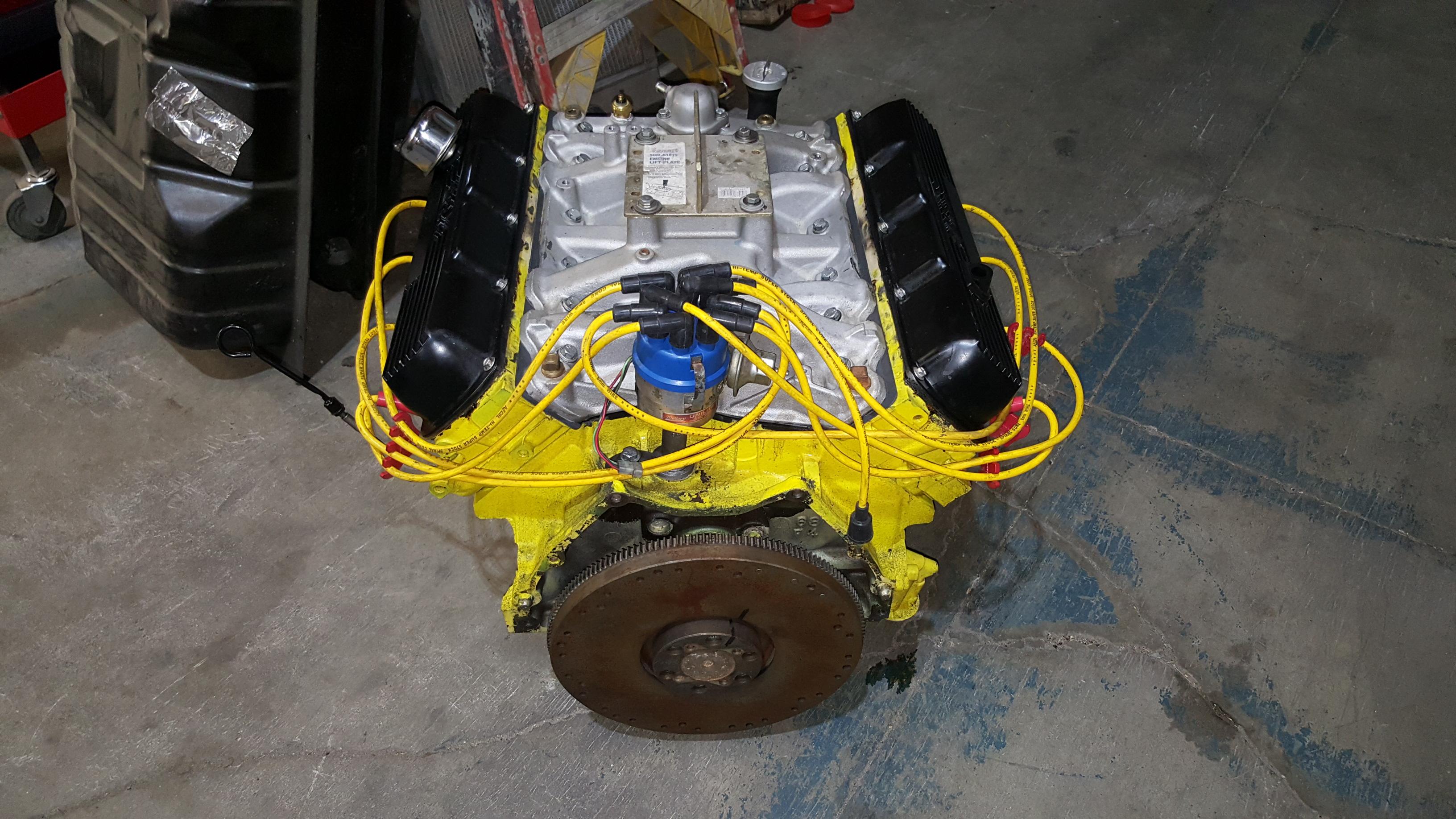 455 Olds V8 Marine Engine Rebuilding For A Boat - Motor