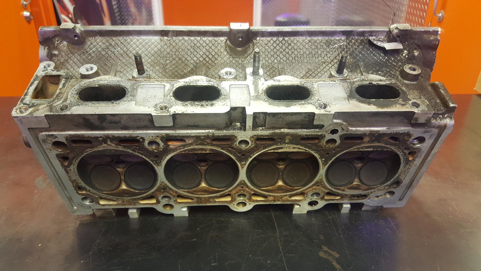 Mitsubishi Eclipse Chrysler 2 0 420A Cylinder Head Machining - Motor
