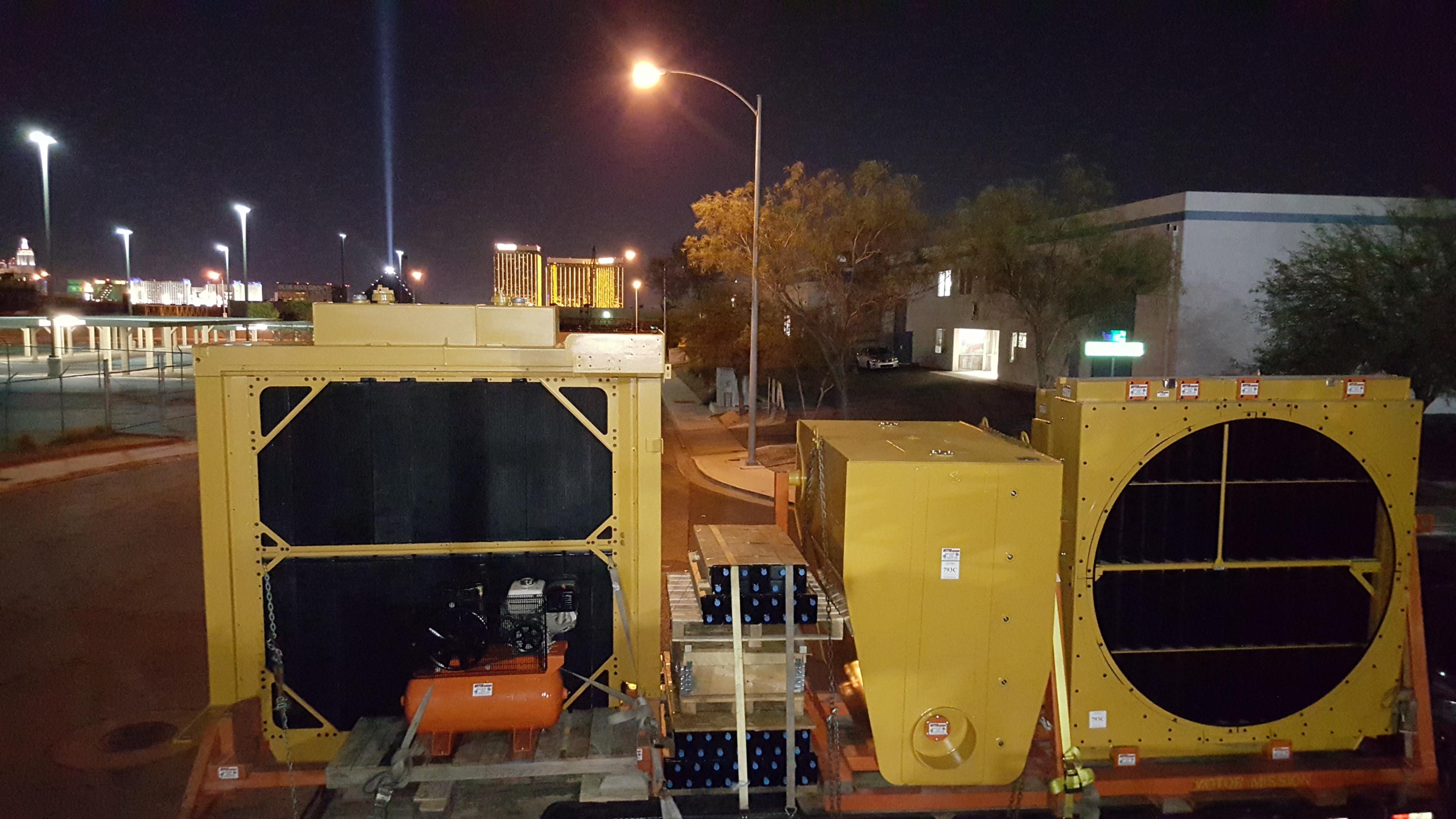 Caterpillar 785 793c Amp 793d Radiator Rebuilding 793c