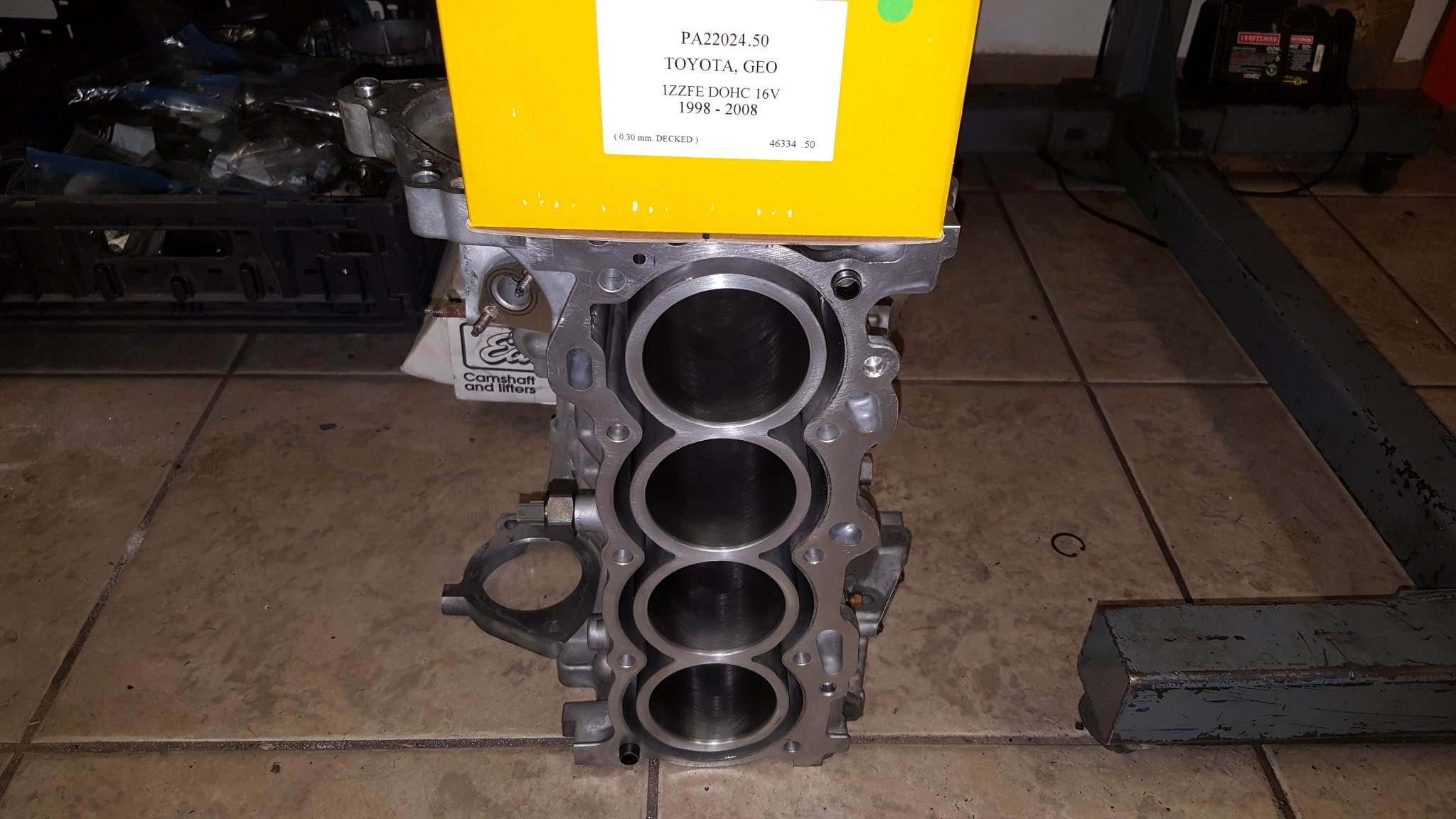 Toyota Engine Block Bore & Hone and Cylinder Head Hot Tank, Pressure Test, & Surface - Motor ...