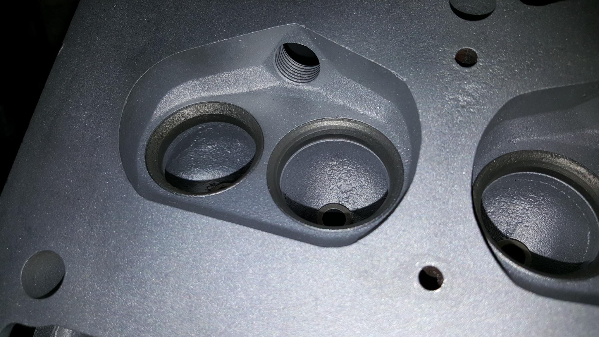 Case 1830 Renault Engine
